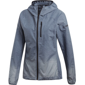 adidas TERREX Agravic Windweave Jacket Women, legend ink/ash grey